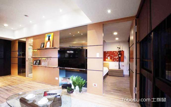 67平米简约风格装修 造温馨原木色家