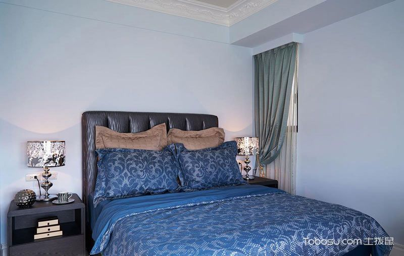 150平欧式古典风格装修 华丽精致四居室