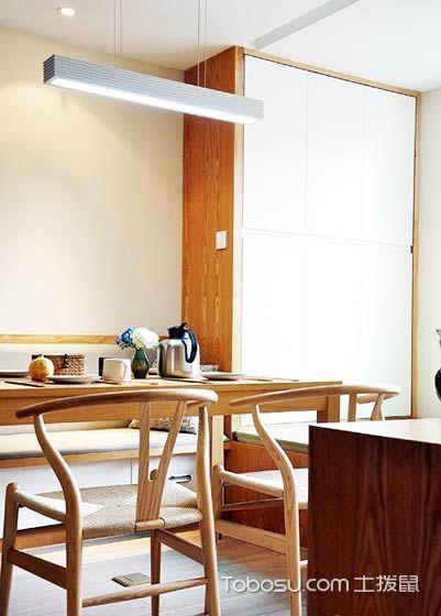 88平米创意原木色家 清新日式装修风格
