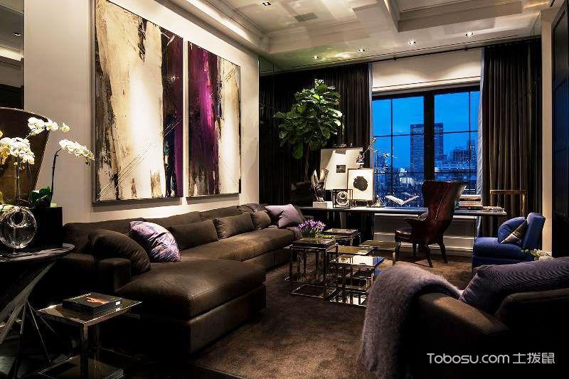 公寓82平米现代风格室内效果图