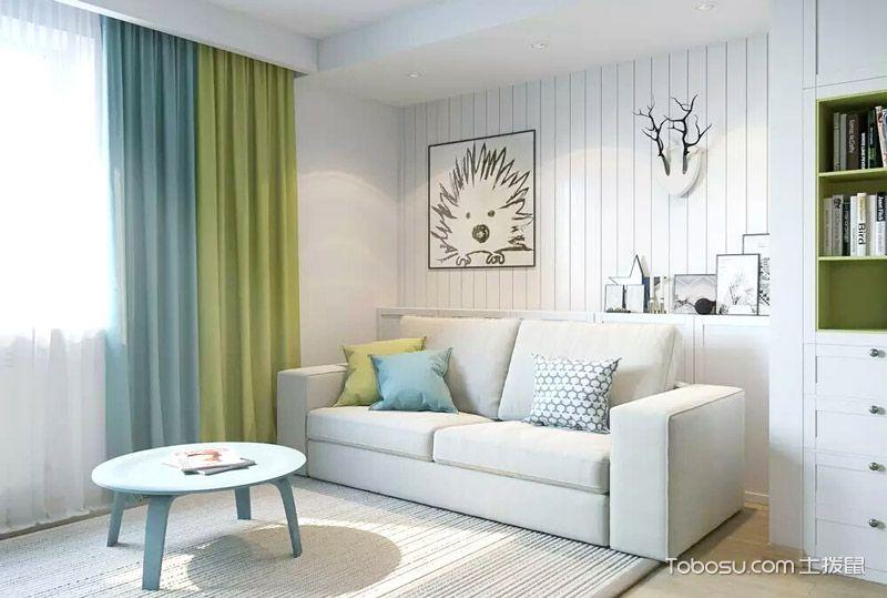 27平简约公寓装修图 小户型也能变摩登