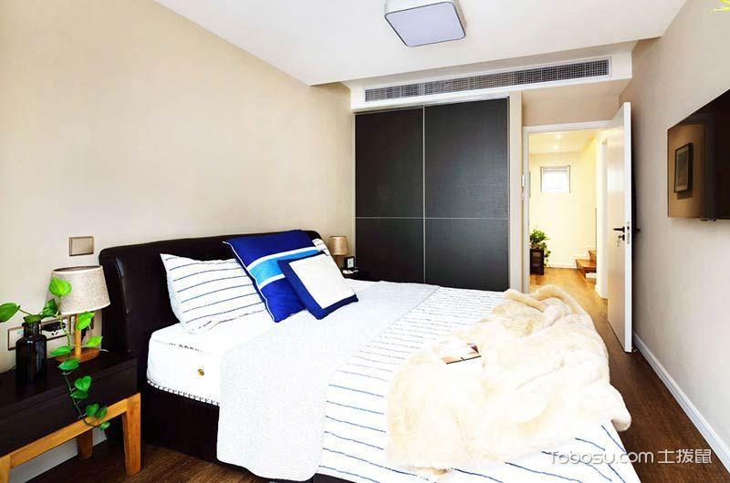 2020复古卧室装修设计图片 2020复古床图片