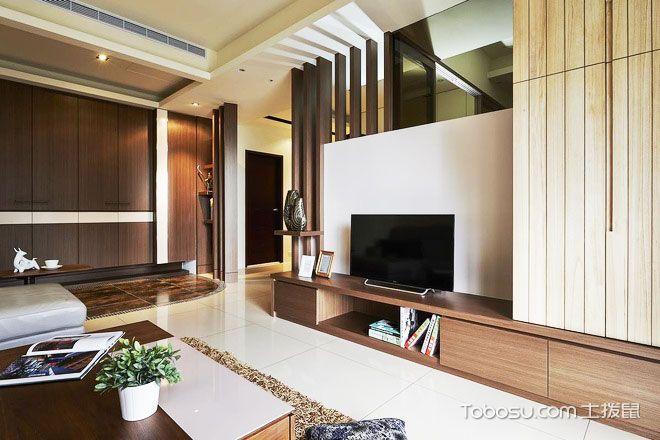 124平米日式禅意家 打造温馨舒适空间