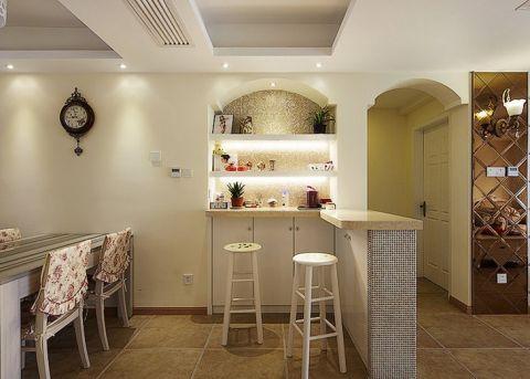 大气餐厅吧台设计