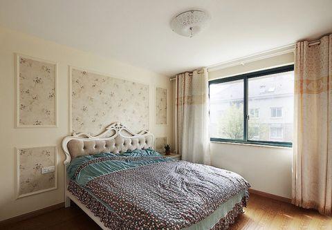 卧室吊顶田园装饰图片
