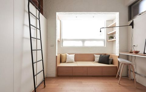 2019现代中式60平米以下装修效果图大全 2019现代中式公寓装修设计