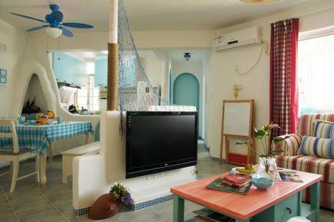 设计精巧客厅茶几效果图图片