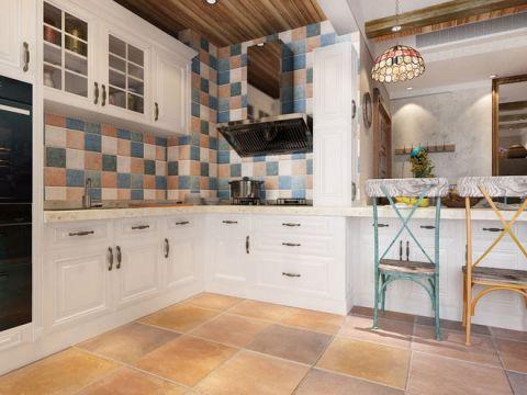 开放式厨房橱柜后现代装修设计