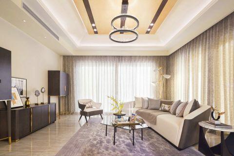 188平米别墅法式风格室内装修设计