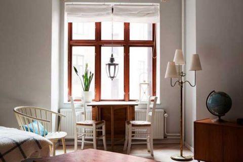 客厅凳子白色背景墙设计图
