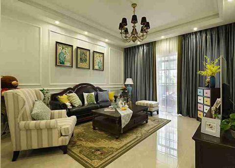 2020美式240平米装修图片 2020美式二居室装修设计