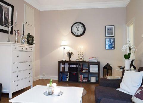 简约客厅茶几室内装修设计