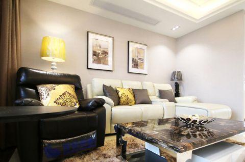 127平米二居室现代简约风格装修
