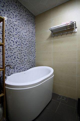 2019现代中式浴室设计图片 2019现代中式浴缸装修效果图大全