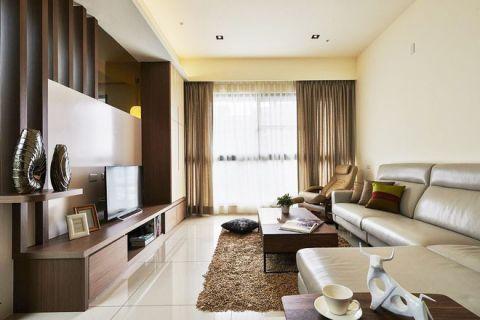 2019现代中式150平米效果图 2019现代中式二居室装修设计