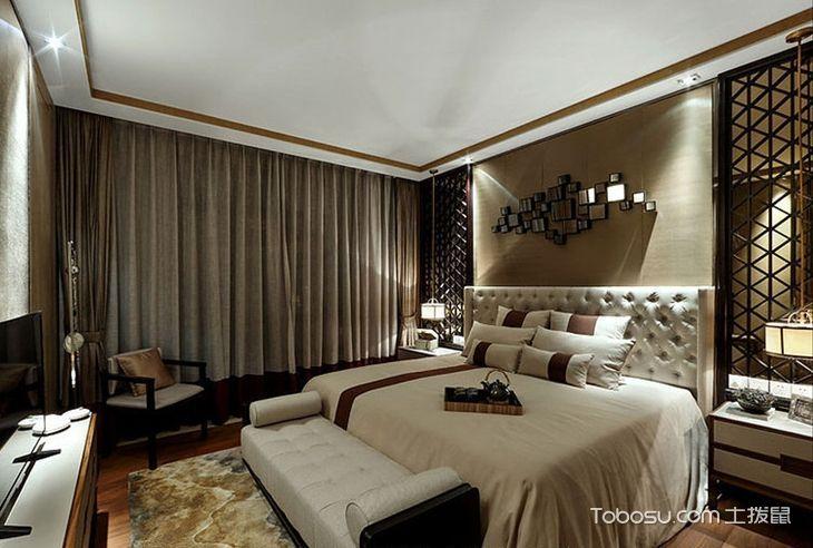170平新中式风格样板房装修 体验奢华与美感