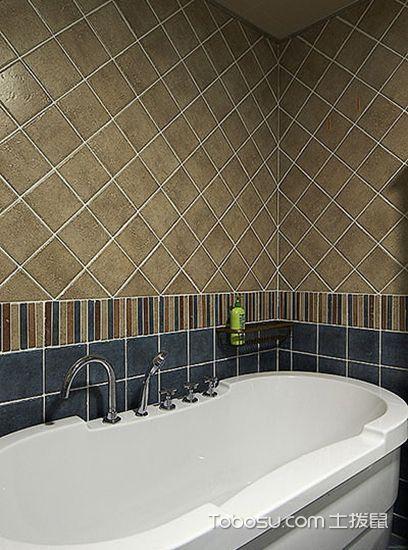 2019地中海浴室设计图片 2019地中海浴缸装修效果图大全