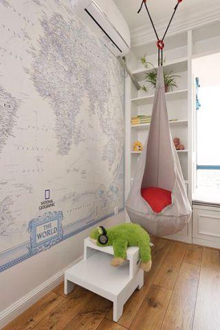 美式卧室地砖案例图