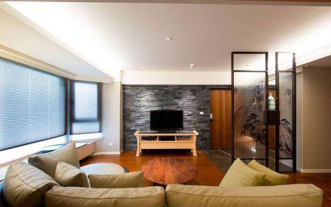 朴素温馨白色客厅图片