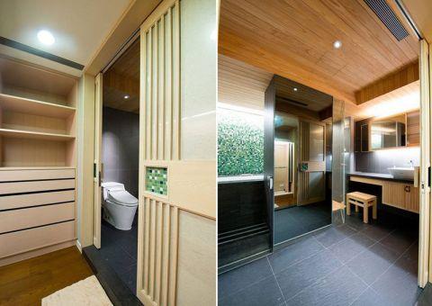卫生间地砖现代设计方案