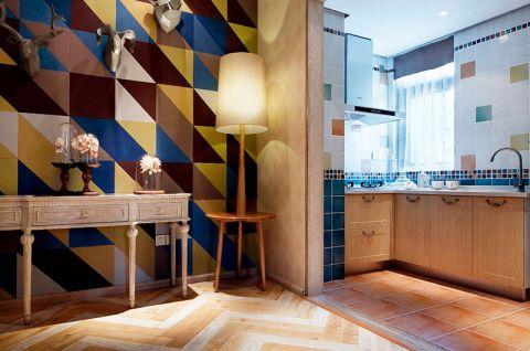 唯美开放式厨房橱柜装修案例