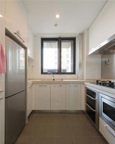 眩亮厨房铝合金橱柜设计图