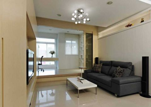 2021现代70平米设计图片 2021现代一居室装饰设计