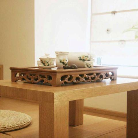 摩登客厅茶几新中式装修案例图片