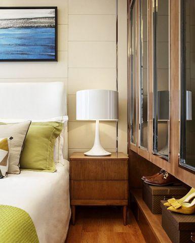 簡潔臥室床頭燈效果圖大全