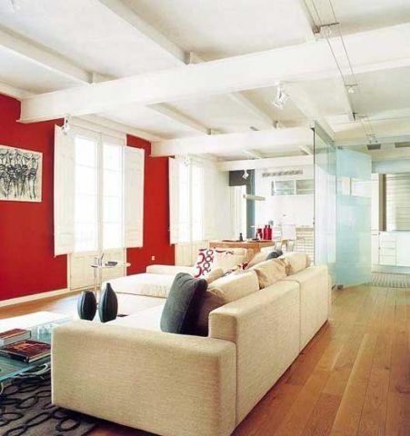 庄重米色客厅设计图片