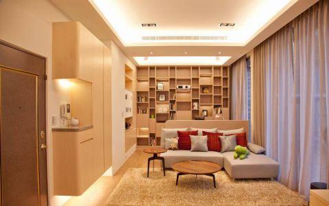 客厅沙发现代简约装饰图片