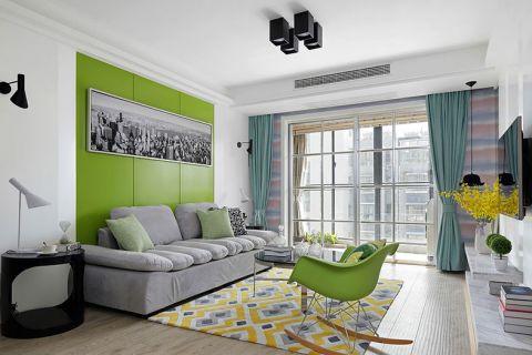 简约风格小户型95平米室内装饰
