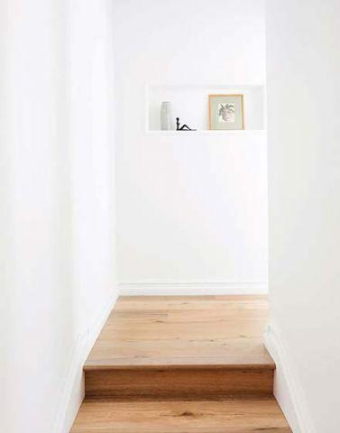 玄关背景墙混搭装潢图