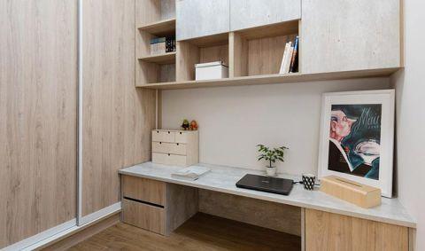 2019北欧书房装修设计 2019北欧书桌图片