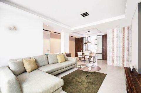 舒适客厅现代简约装修设计