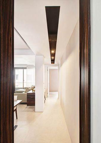 休闲现代简约白色走廊装修