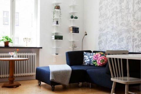 宜家客厅沙发装饰效果图