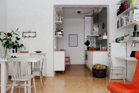 质感白色餐厅装饰设计
