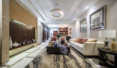 设计优雅美式米色沙发装修方案