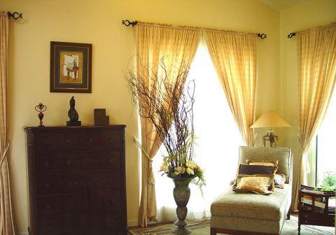 低调优雅客厅室内装修图片