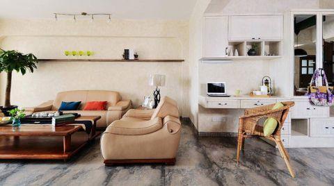低调优雅咖啡色背景墙装修设计
