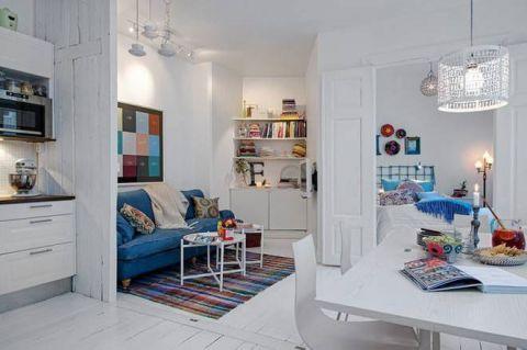 低调优雅客厅沙发装修效果图