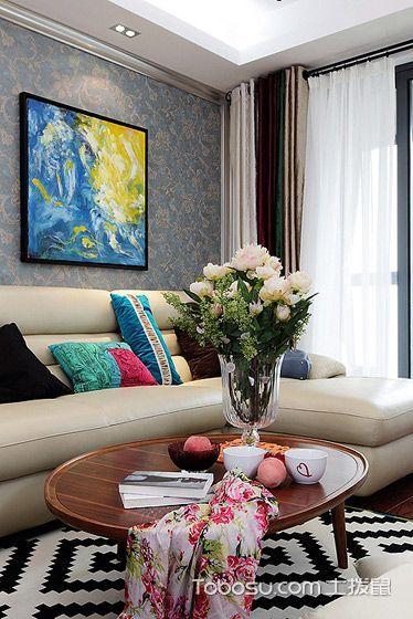 色彩演绎芬芳气质 123平田园温馨美宅装修设计