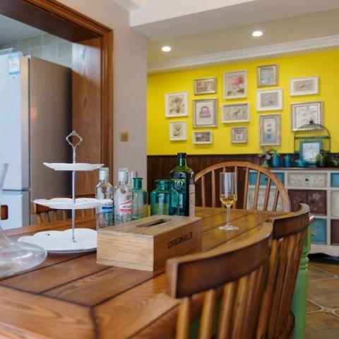 简洁餐厅美式家装设计图
