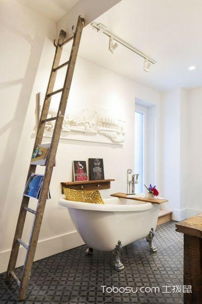 2019混搭浴室设计图片 2019混搭浴缸装修效果图大全
