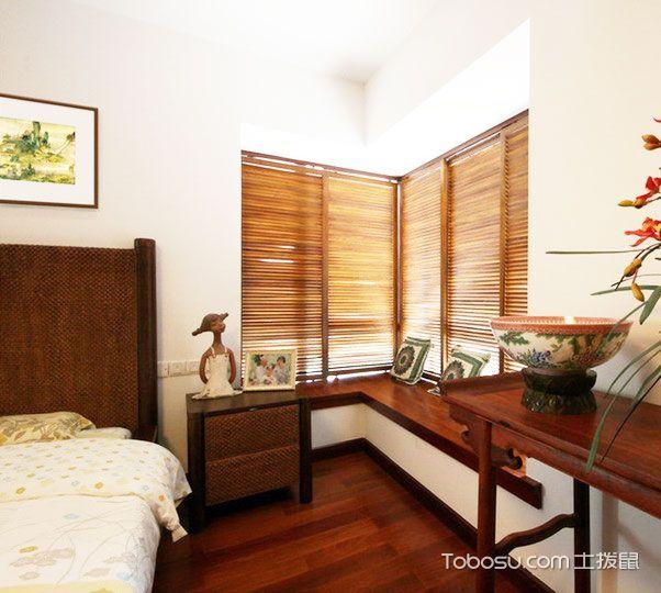 中式也可有飘窗 16图上演最惊艳卧室 _装修图片