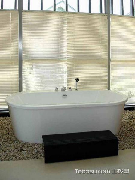 2019中式浴室设计图片 2019中式浴缸装修效果图大全
