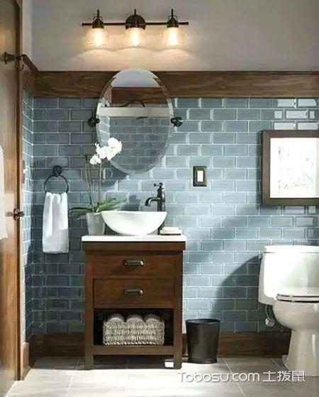 中式风格卫生间装修设计_装修图片