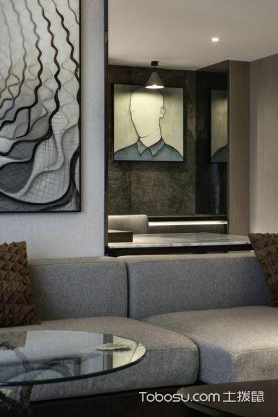 这一家装设计从视觉上扩大房子30平面积_装修图片 - 装修效果图