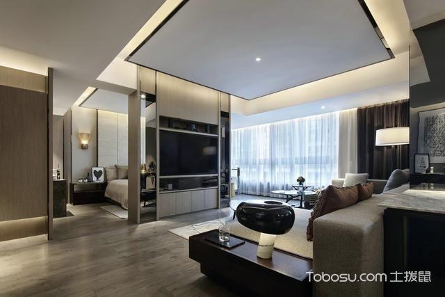 这一家装设计从视觉上扩大房子30平面积_装修图片